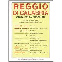Reggio Calabria Provincial Road Map (1:150, 000)
