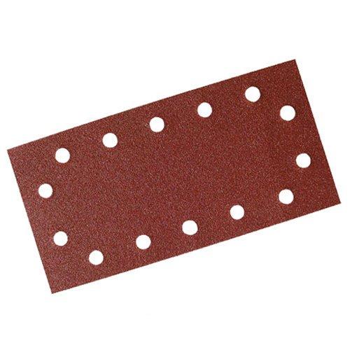 Preisvergleich Produktbild Silverline 595752 Klettschleifblätter, gelocht, 115 x 230 mm, 10er-Pckg. 240er-Körnung