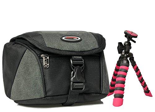 Foto Kamera Tasche MINI WAIST Set Stativ Rollei für Kamera Sony Cybershot HX50 HX60 HX90 RX100 H400 HX400