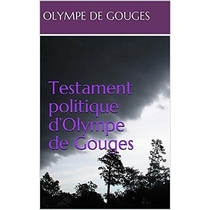 Testament politique d'Olympe de Gouges
