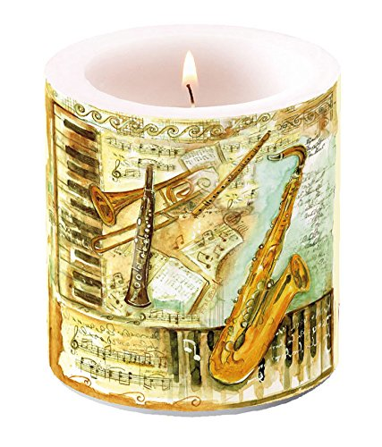 candle-small-musical-instruments-hohe-8-cm-licht-kerze