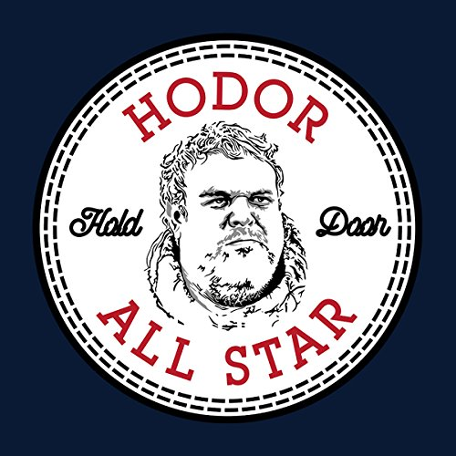 Hodor Game Of Thrones All Star Converse Logo Women's Vest Navy blue