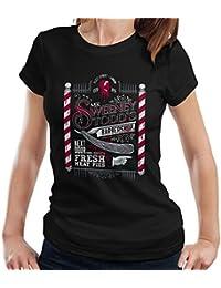 Cloud City 7 Demon Barber Mr Sweeney Todds Barbers Shop Women's T-Shirt