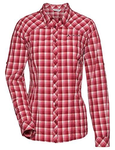 Vaude Damen Women's Tacun LS Shirt Bluse, Red Cluster, 40 Preisvergleich