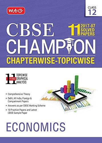 11 Years CBSE Champion Chapterwise Topicwise - Economics