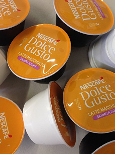 Choose Dolce Gusto 50 Pods Skinny Latte Mix (25 Coffee and 25 Milk) by nescafe