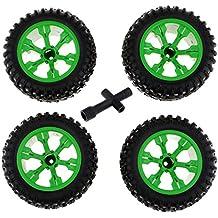 FLAMEER RC Neumáticos para 1/12 RC Coches JRC Q39 Q46 WLtoys L959 L979 12404