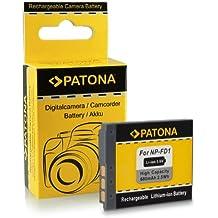 Batteria NP-BD1 / NP-FD1 per Sony Cybershot DSC-G3 | DSC-T2 | DSC-T70 | DSC-T75 | DSC-T77 | DSC-T90 | DSC-T200 | DSC-T300 | DSC-T500 | DSC-T700 | DSC-T900 | DSC-TX1