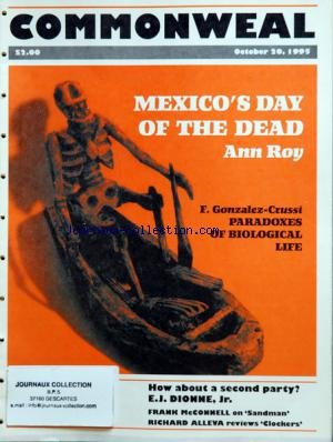 Sandman Tome 10 - COMMONWEAL du 20/10/1995 - MEXICO'S DAY OF