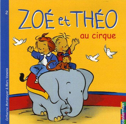 Zoé et Théo au cirque