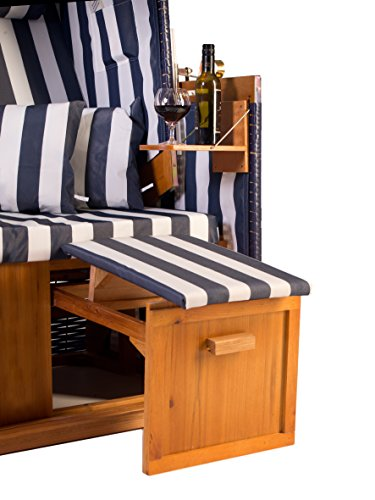 Strandkorb Set Nordstrand blau - 5