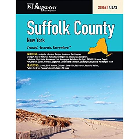 Suffolk County New York: Street Atlas