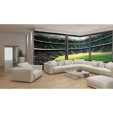 WTD–Mural de papel pintado para paredes papel pintado para la esquina del estadio 740VE E