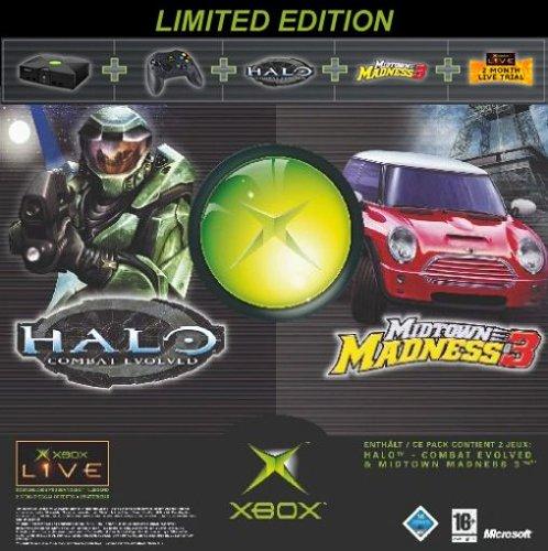 Xbox Holiday Bundle (Xbox plus Halo, Midtown Madness 3 und Xbox-Live-Zugang für...