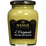 Maille Moutarde Fine de Dijon L'Originale Forte Bocal 215g - Lot de 3