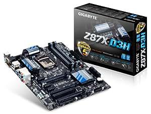 Gigabyte Z87X-D3H Mainboard Sockel LGA 1150 (ATX, Intel Z87, DDR3, 6x SATA III, HDMI, DVI, 10x USB 3.0)