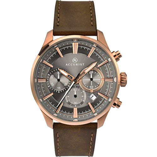 Homme Accurist montre chronographe 7195