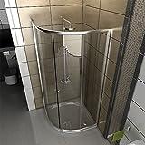 duschabtrennung viertelkreis - Vergleich von
