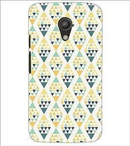 PrintDhaba Pattern D-5219 Back Case Cover for MOTOROLA MOTO G2 (Multi-Coloured)
