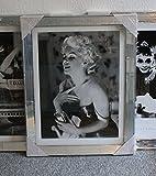 LaMaisonHenri Spiegelrahmenbild Parfum M. Monroe 60 x 80 cm