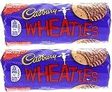 x2 Cadbury Wheaties Milk Chocolate Biscuits 400g