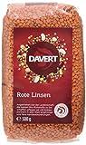 Produkt-Bild: Davert Ganze Rote Linsen, 4er Pack (4 x 500 g) - Bio