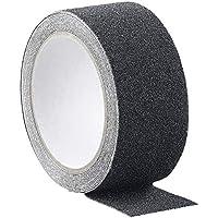 AGT Antirutsch Klebeband: Anti-Rutsch-Klebeband, robust und wasserfest, 48 mm x 4 m, schwarz (Anti Rutsch Klebeband Außenbereich)