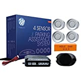 Cisbo SB301/ plata /inversa de aparcamiento 8/sensores zumbador sistema de audio juego de 8