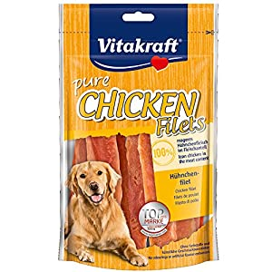 VITAKRAFT Chicken Filets Poulet Friandise pour Chien 80 g
