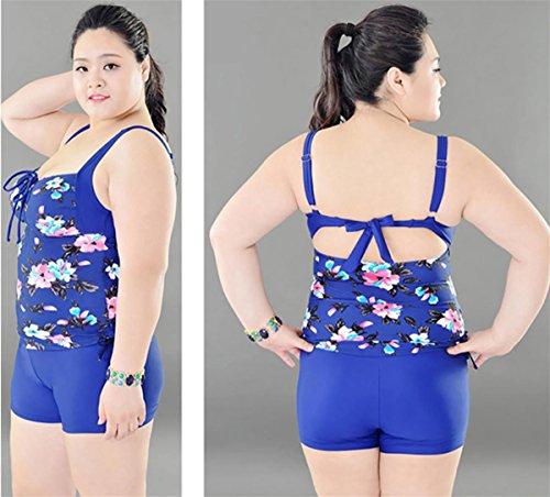 SHISHANG Bikini-Damen-Badeanzug großen zwei Sätze von Anzug dünnen, flachen  Badeanzug hohe ...