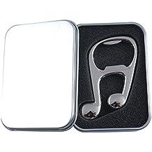 Punk Music note apribottiglie a forma di chiave di violino design 2oro e argento Colore Silver music note