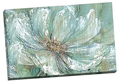 "Portfolio Canvas Decor TEAL SPLASH by Carson Large Canvas Wall Art, 24 x 36"" - inexpensive UK light shop."
