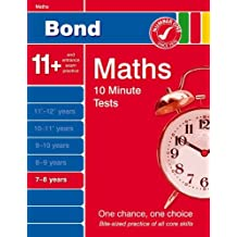 Bond 10 Minute Tests 7-8 Years Maths (7-8 Years) (Bond 10 Minute Tests Maths)