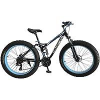 Helliot Bikes Fat Extreme Terrain 01 Bicicleta, Adultos Unisex, Azul, Talla Única