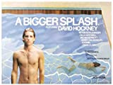 A Bigger Splash Plakat Movie Poster (30 x 40 Inches - 77cm x 102cm) (1974) B