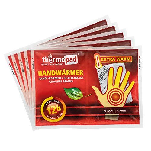Thermopad, set di adesivi scalda-mani, 12 ore, 5 paia