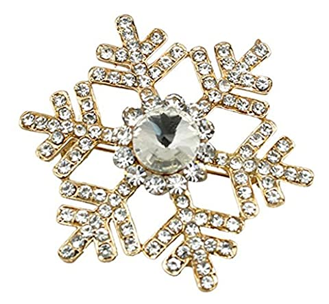 richbest Broche fleur cristal revers Pines Lovely Fashion femmes mariage Hijab broches Jewelry Grand Broche