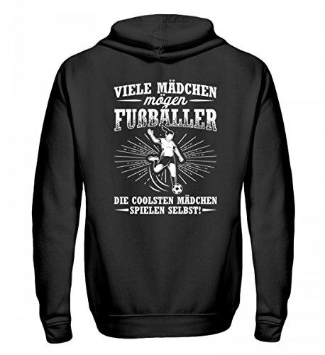 Chorchester Hochwertiger Zip-Hoodie - Perfekt für alle Fußballerinnen! -