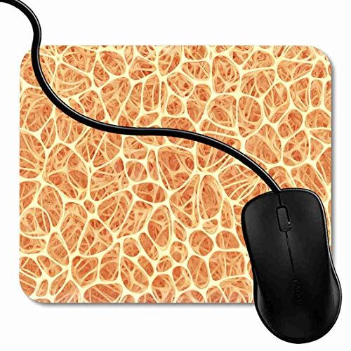 Mauspad Gewebe-Körper formt Knochen-Struktur-Mark-Makro nach innen Rutschfeste Gummi Basis Mouse pad, Gaming mauspad für Laptop, Computer 1X1181 Knochen-gewebe