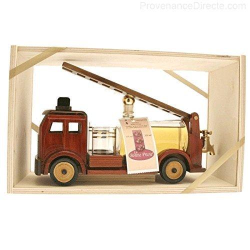 René De Miscault - Carafe Camion Pompier Prune