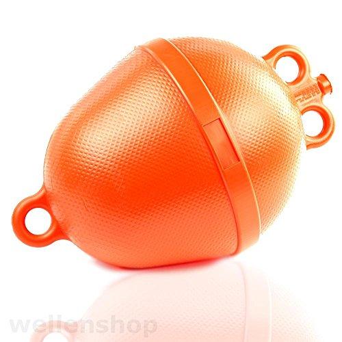 Ankerboje Boje Ø 250 mm Schwimmkörper Auftriebskörper Mooringboje Anker Orange