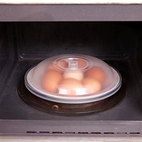 Microondas tapa para alimentos, tapa para microondas placa de la cubierta salpicaduras de ventilación xinxinyu pantalla Borrar cocina seguro de ventilación