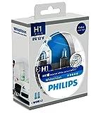 Philips WhiteVision Xenon Effect H1 Headlight Bulb...