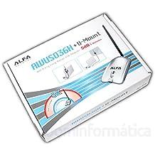 AWUS036H v5 Alfa Network 1000mW 1W Antena WiFi 5dbi