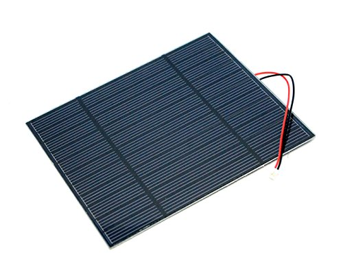 This material de panel solar is Made of Single Crystal that performs High Efficiency at 17% solar energy transformación. it has a Fine Resin surface and Sturdy Back suitable for outdoor environments. a 2mm JST cuadernos is Attached to the escolar, w...