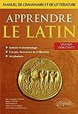 Ce manuel s'adresse à tous ceux qui ont besoin d'apprendre le latin de manière systématique et progressive (étudiants de lettres classiques, de lettres modernes, d'histoire, de philosophie, d'espagnol, d'italien...) et à ceux qui ont envie d'apprendr...