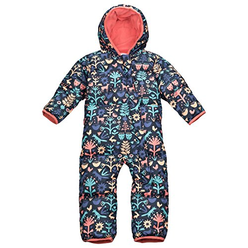 Columbia Baby Schneeanzug Snuggly Bunny SN0219 Collegiate Navy Critters 0/3