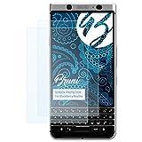 Bruni Schutzfolie für Blackberry KeyOne Folie - 2 x glasklare Displayschutzfolie