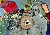 """Sibylle Rettenmaier """" SCHAUEN UND SEHEN"""" Original Kunstgemälde - Leinwandbild - handgemaltes Unikat in Acryl Farbe – Kuns - Bild - Akt - figürlich - abstrakt 140 x 100 cm"""