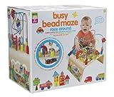 #6: Alex Toys Jr Busy Bead Maze Race Around, Multi Color